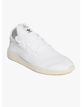 Pw Tennis Hu White Sneakers by Adidas Originals