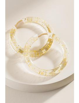 Piper Lucite Hoops by Francesca's