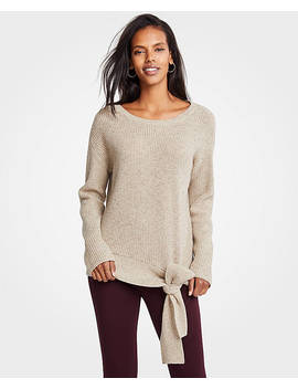 Tie Waist Sweater by Ann Taylor