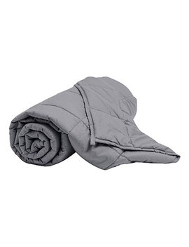 dark-grey-weight-blanket by zulily