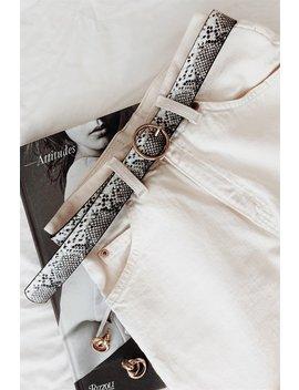 Snake Ring Belt by Sabo Skirt