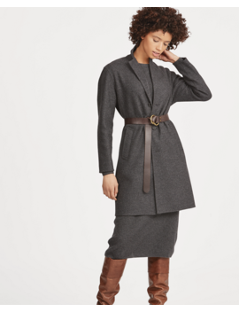 Wool Blend Trench Coat by Ralph Lauren