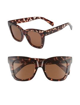 After Hours 50mm Square Sunglasses by Quay Australia