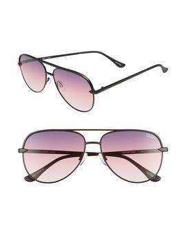 X Desi Perkins Sahara Mini 52mm Aviator Sunglasses by Quay Australia