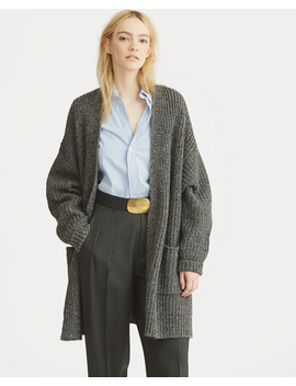 Donegal Wool Cashmere Cardigan by Ralph Lauren