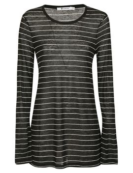 T By Alexander Wang Striped T Shirt by T By Alexander Wang