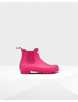 "<Span Itemprop=""Name"">Women's Original Chelsea Boots</Span>:                     <Span>Bright Pink</Span> by Hunter"