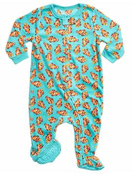 Leveret Fleece Baby Boys Footed Pajamas Sleeper Kids & Toddler Pajamas (3 Months 5 Toddler) by Leveret