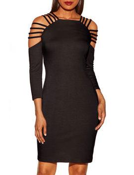 Strappy Back Dress by Boston Proper