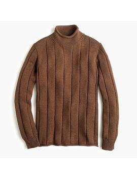1988 Rollneck™ Sweater In Ribbed Cotton by J.Crew