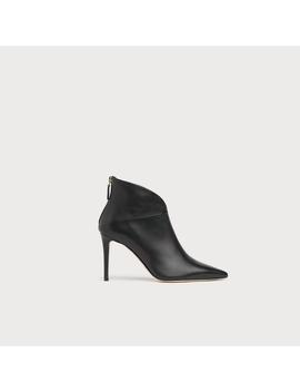 Jennifer Black Leather Ankle Boots by L.K.Bennett