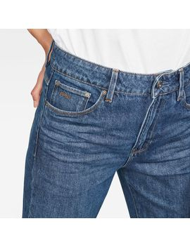 3301 High Waist Straight 90s Ankle Cut Jeans by G Star