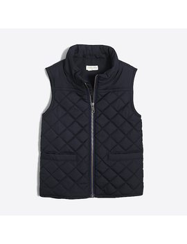 J.Crew Mercantile Sussex Quilted Vest by J.Crew