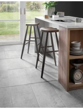 Wickes Tibet Light Grey Matt Glazed Porcelain 600 X 300mm by Wickes