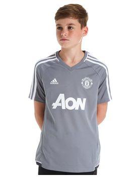 Adidas Manchester United 2017 Training Shirt Junior by Adidas