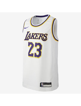 Maillot Le Bron James Association Edition Swingman (Los Angeles Lakers) by Nike