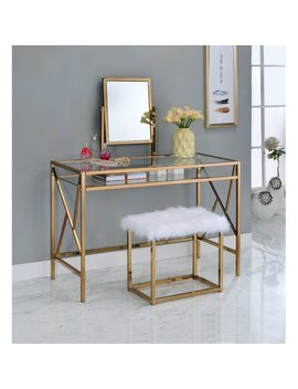 Enid Contemporary Vanity Set With Mirror by Allmodern