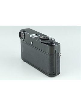 Zeiss Ikon Zm 35mm Rangefinder Film Camera In Black #18706 D4 by Zeiss