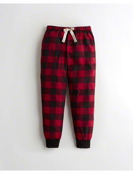 Flannel Joggers by Hollister