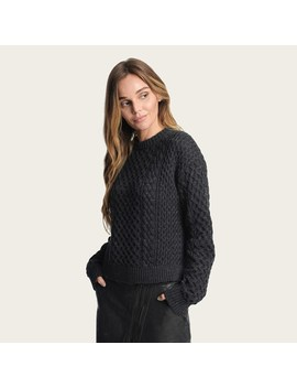 Erin Fisherman Cable Sweater by Frye