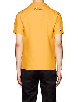 Logo Latex Shirt by Calvin Klein 205 W39 Nyc