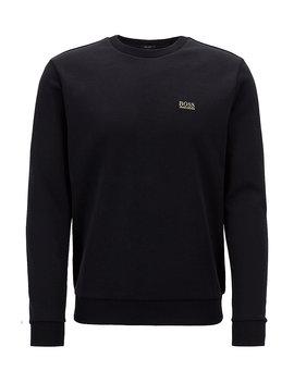 Sweater Met Ronde Hals Van Een Dubbellaagse Katoenmix by Boss