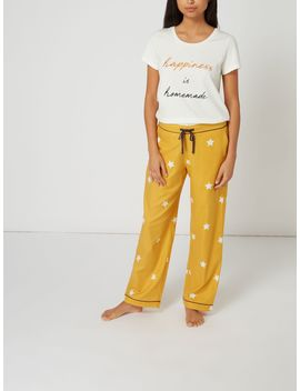 Star Print Woven Pj Trouser by Maison De Nimes