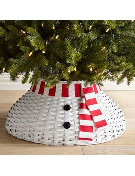 Snowman Tree Collar by Pier1 Imports