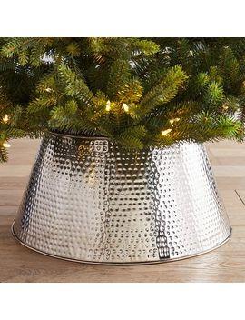 Hammered Silver Metal Tree Collar by Pier1 Imports