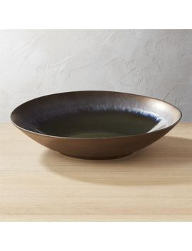 Melt Large Reactive Bronze Bowl by Crate&Barrel