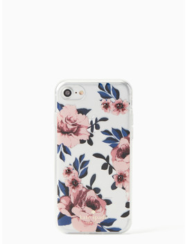 Jeweled Prairie Rose I Phone 7 & 8 Case by Kate Spade