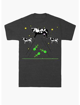 Cow And Alien Invasion T Shirt by Hot Topic