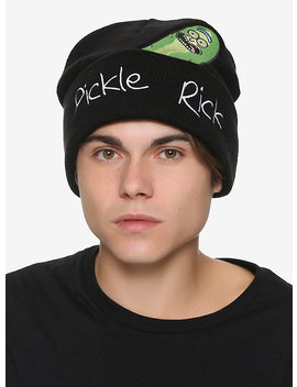 Rick And Morty Pickle Rick Peek Beanie by Hot Topic