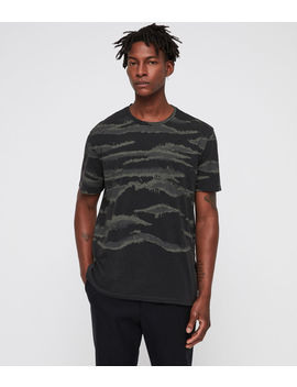 Brushed Camo Crew T Shirt by Allsaints