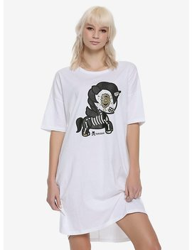 Tokidoki Sugar Skull Caramelo Unicorno Girls Dorm Shirt by Hot Topic