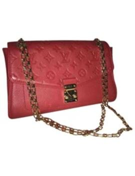 Saint Germain Leather Handbag by Louis Vuitton