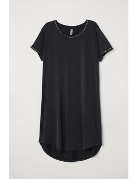 T Shirt Dress With Studs by H&M