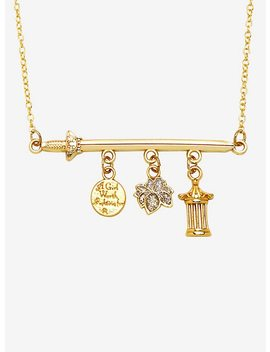Disney Mulan Sword Charm Necklace by Hot Topic
