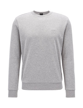 Sweater Met Ronde Hals En Logostiksel by Boss