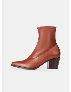 Hayek Leather Ankle Boot by Vince