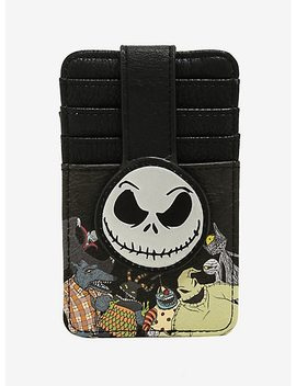 Loungefly The Nightmare Before Christmas Jack Snap Cardholder by Box Lunch