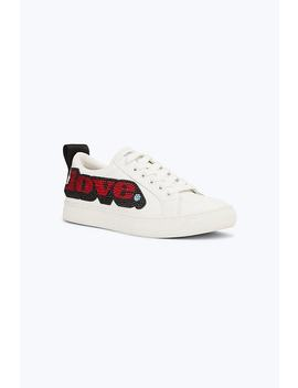 Love Embellished Empire Low Top Sneaker by Marc Jacobs