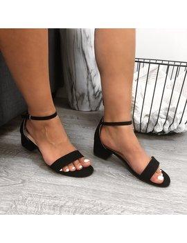 Bella Heel (Black) by Laura's Boutique