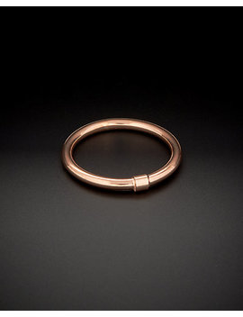 14 K Italian Rose Gold Polished Comfort Fit Band Ring by Italian Gold