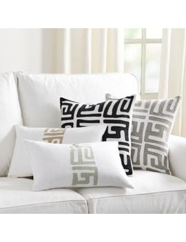 Kuba Applique Pillow by Ballard Designs