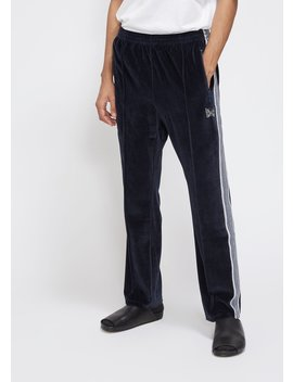 Velour Narrow Track Pant by Needles