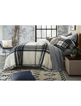 Ugg® Dakota Plaid Cotton Flannel Duvet Cover by Bed Bath And Beyond