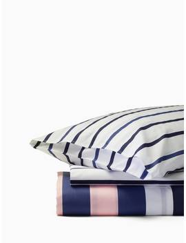 Chesapeake Stripe Duvet Set by Kate Spade