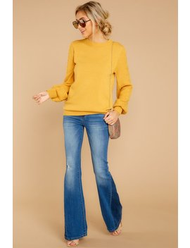 Wandering Through Winter Goldenrod Sweater by Fable