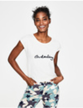 Robyn Jersey Tee by Boden